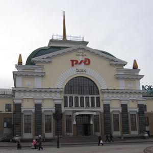 Железнодорожные вокзалы Анжеро-Судженска